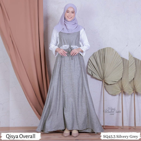 Qisya Overall - SQ45.3 Silvery Grey
