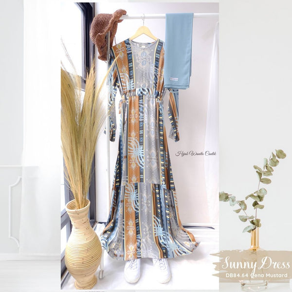 Sunny Dress - DB84.64 Qena Mustard