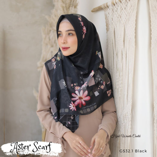 Aster Scarf - GS32.1 Black