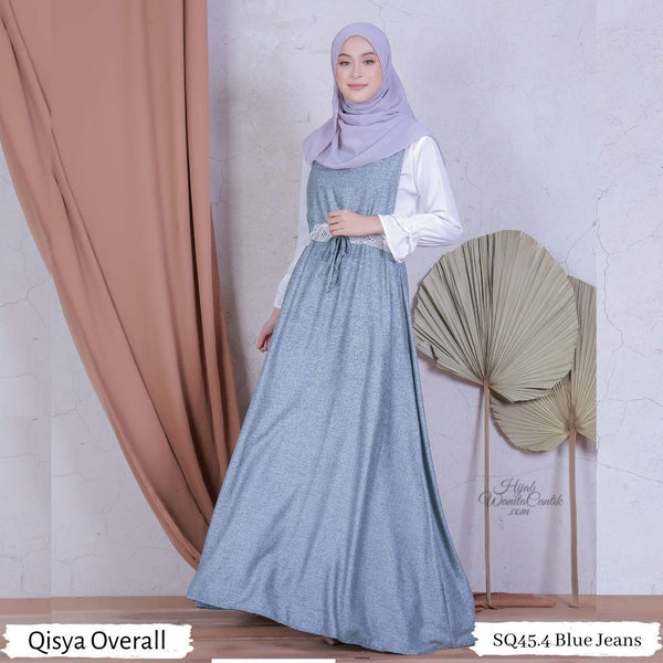 Qisya Overall - SQ45.4 Blue Jeans