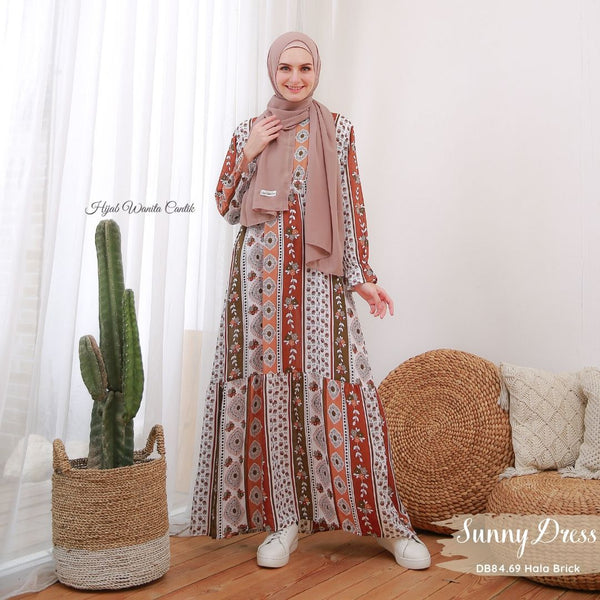 Sunny Dress - DB84.69 Hala Brick