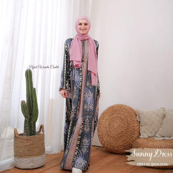 Sunny Dress - DB84.65 Qena Grey