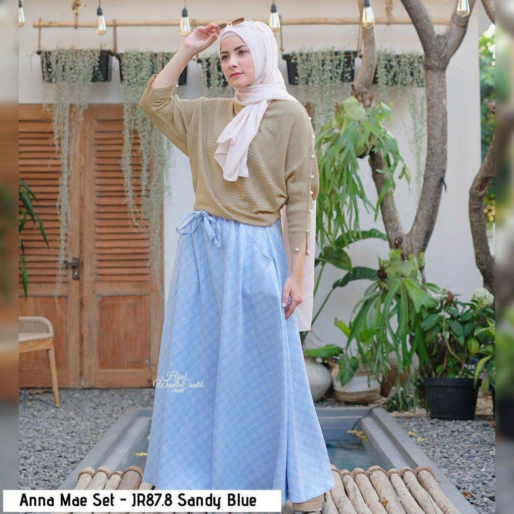 Anna Mae Set - JR87.8 Sandy Blue