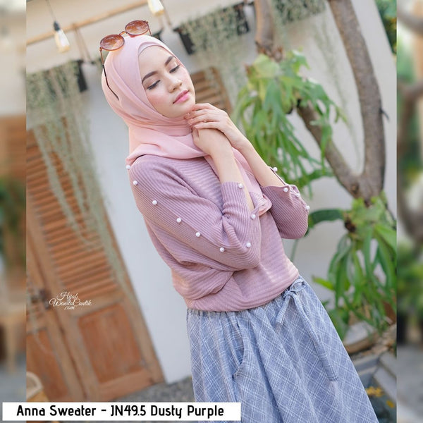 Anna Sweater - JN49.5 Dusty Purple