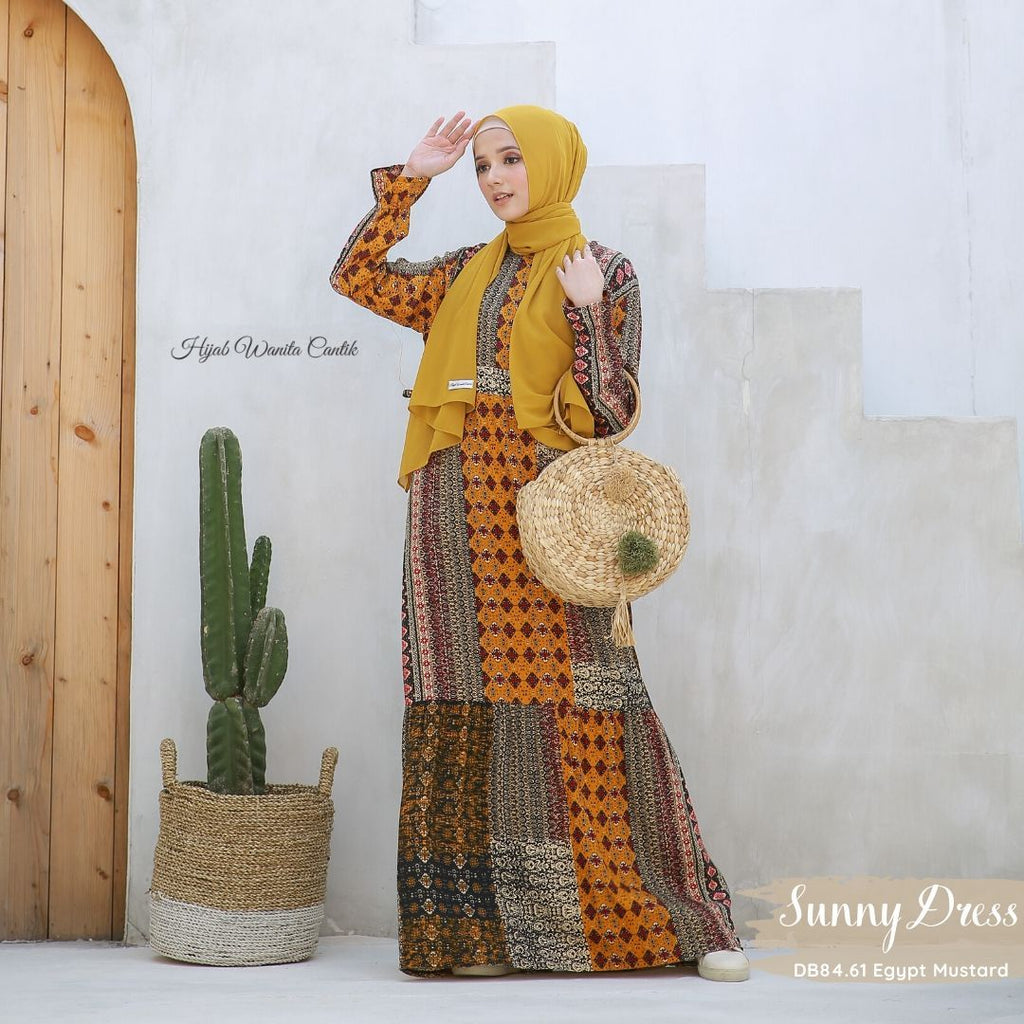 Sunny Dress - DB84.61 Egypt Mustard