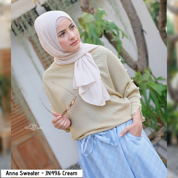 Anna Sweater - JN49.6 Cream