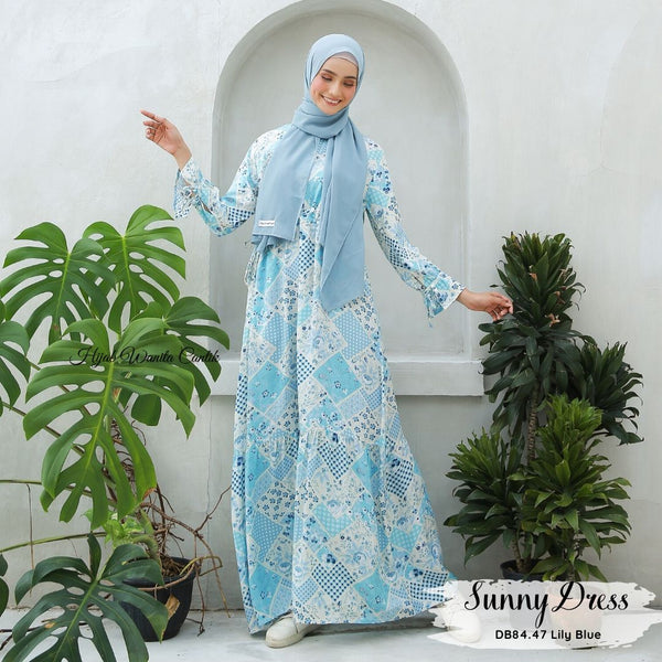 Sunny Dress - DB84.47 Lily Blue