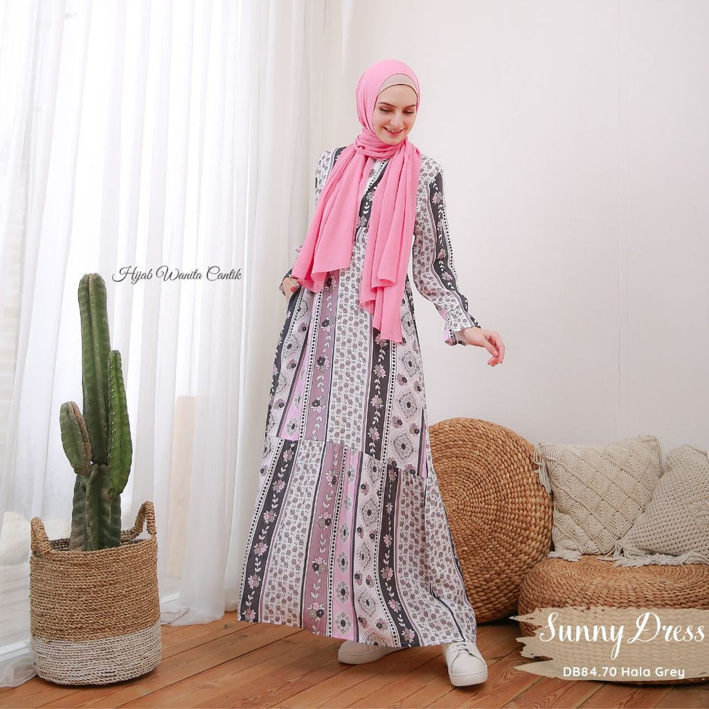 Sunny Dress - DB84.70 Hala Grey