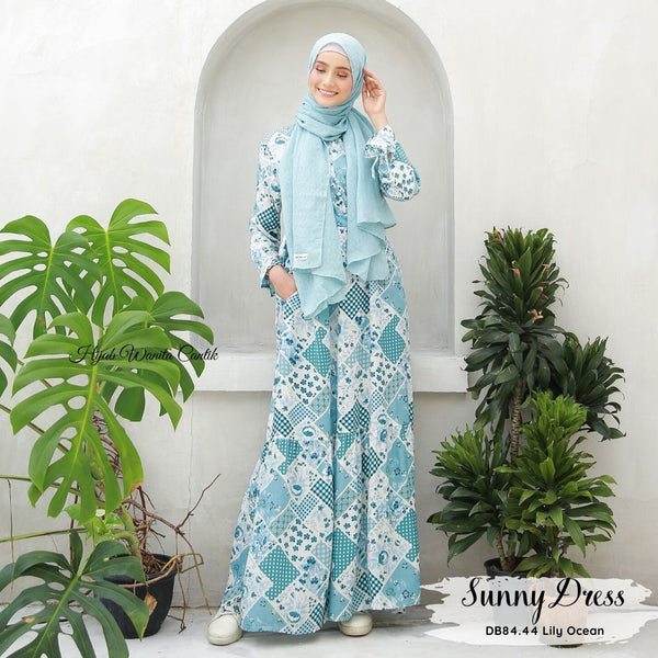 Sunny Dress - DB84.44 Lily Ocean