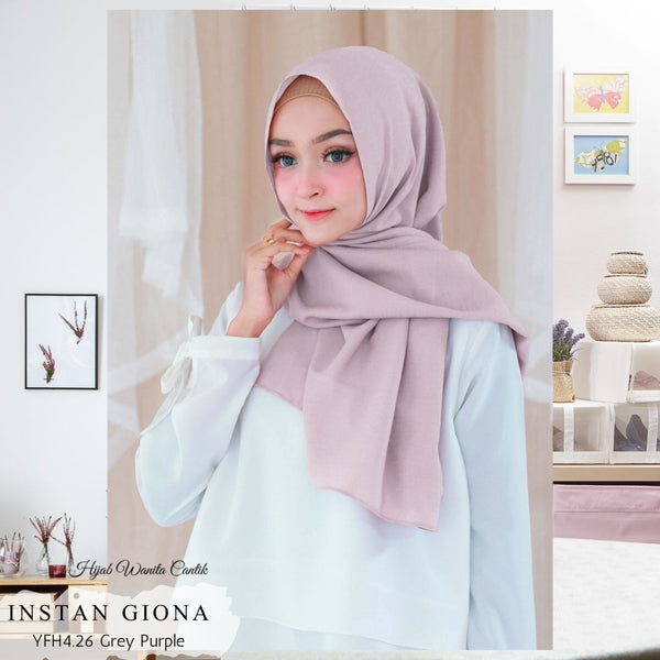Instan Giona  - YFH4.26 Grey Purple