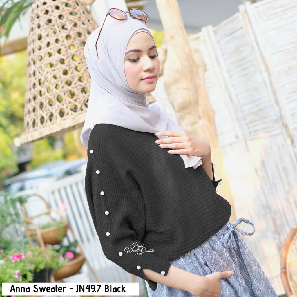 Anna Sweater - JN49.7 Black