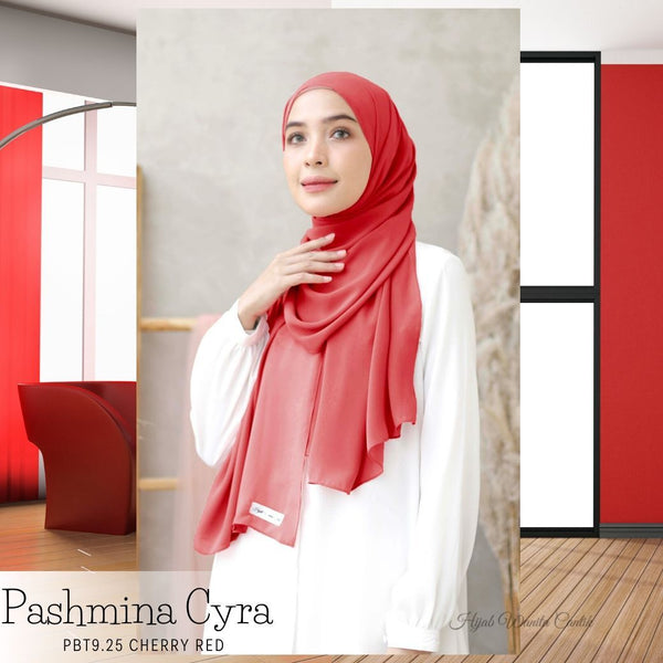 Pashmina Cyra - PBT9.25 Cherry Red