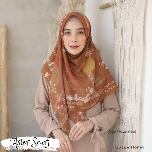 Aster Scarf - GS32.4 Honey