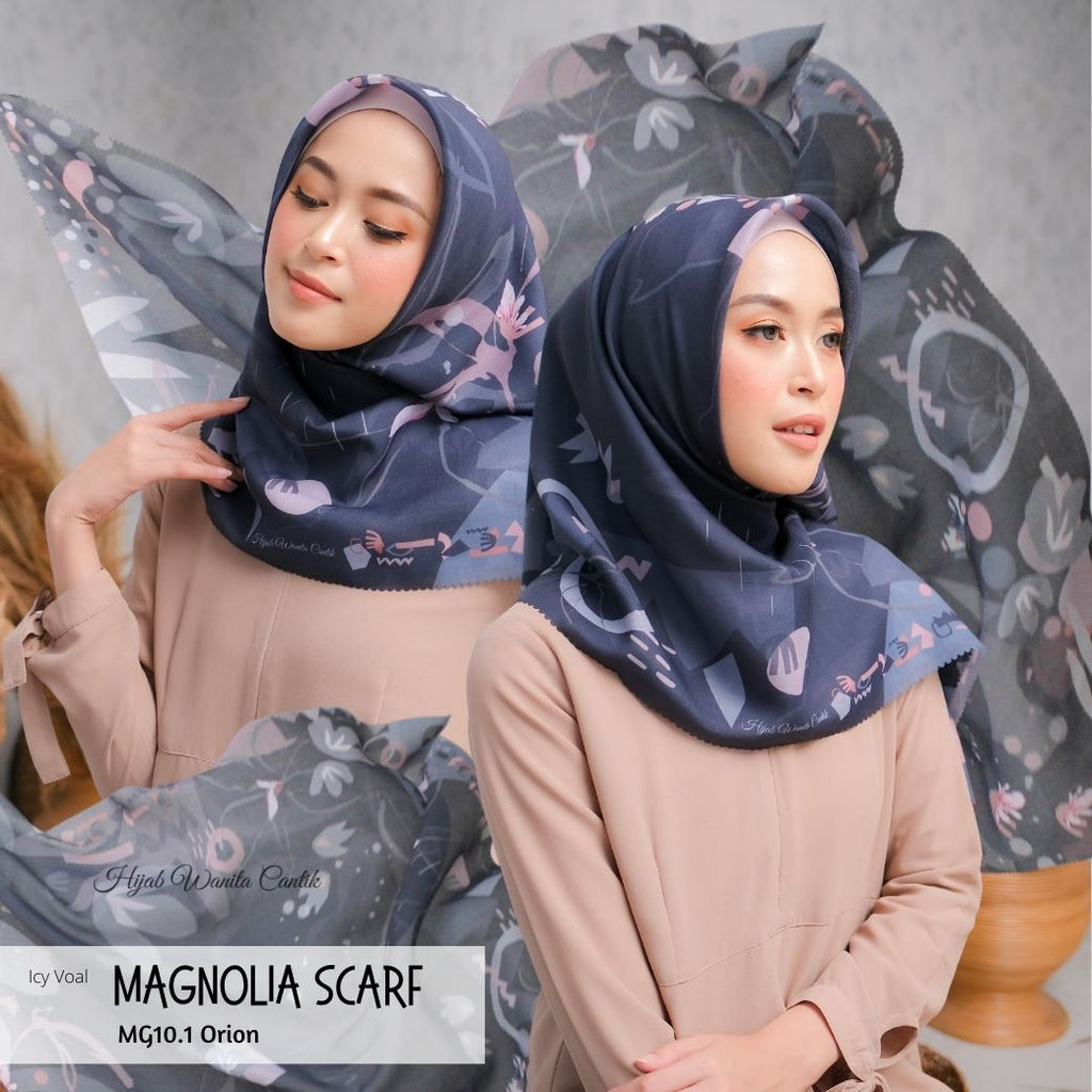 Magnolia Scarf ICY Voal - MG10.1 Orion
