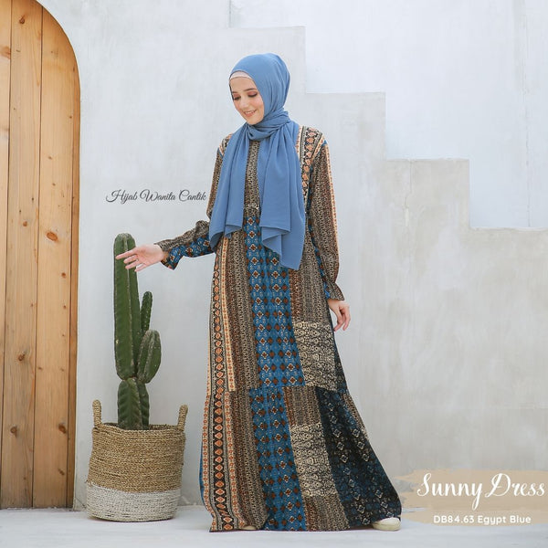 Sunny Dress - DB84.63 Egypt Blue