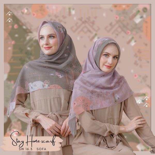 Segiempat Stay Home Scarf - SW16.3 Sofa