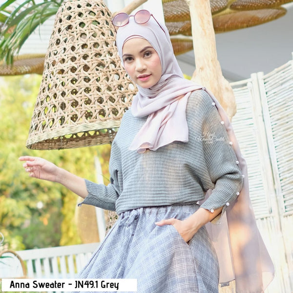 Anna Sweater - JN49.1 Grey