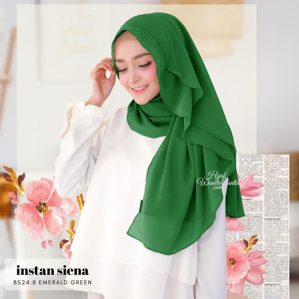 Instan Siena - BS24.8 Emerald Green