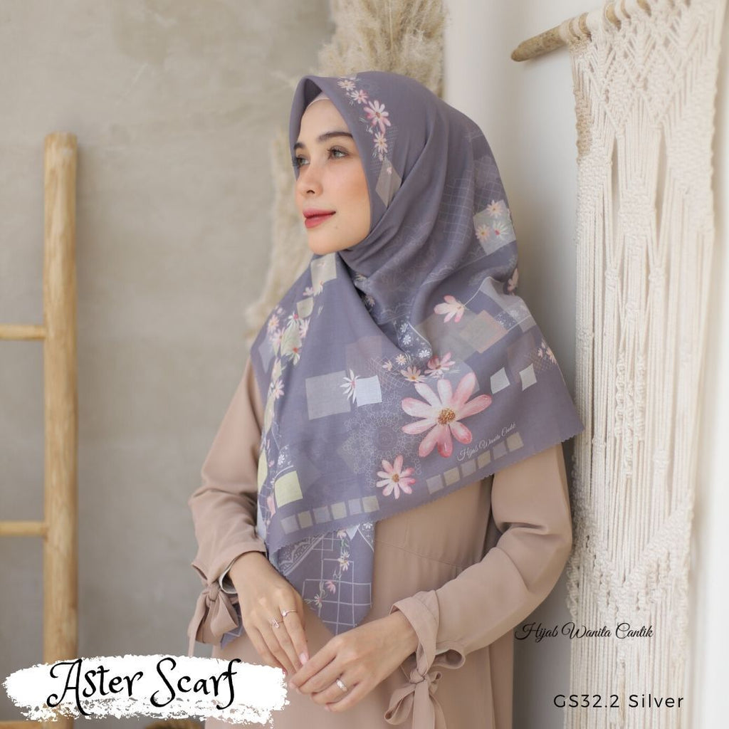 Aster Scarf - GS32.2 Silver
