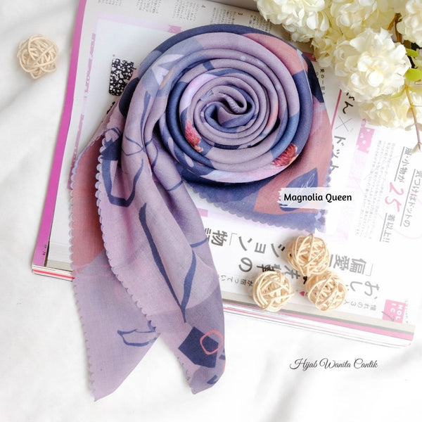 Magnolia Scarf ICY Voal - MG10.3 Queen