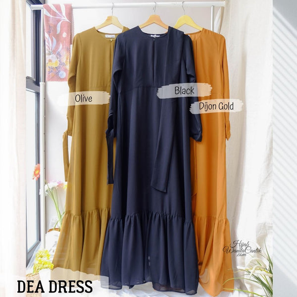 Dea Dress - DC86.7 Black