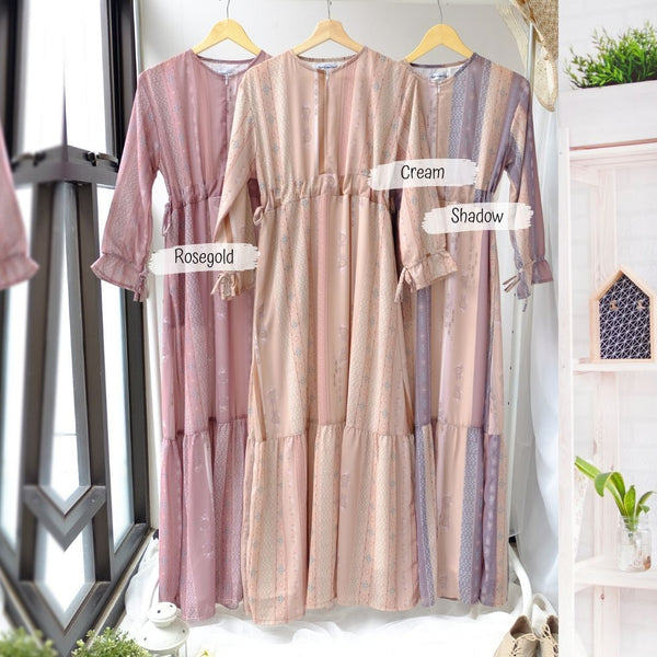 Acacia Dress - PA31.6 Rosegold