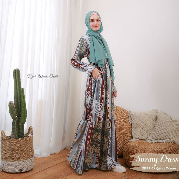 Sunny Dress - DB84.67 Qena Ocean