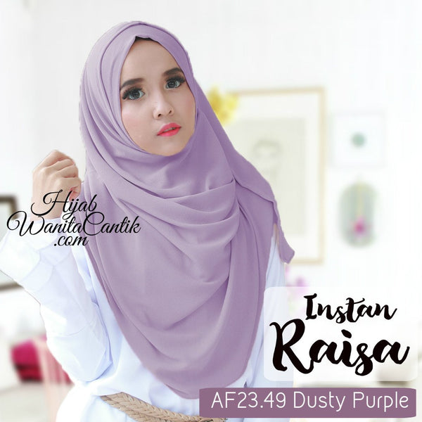 Pashmina Instan Raisa - AF23.49 Dusty Purple