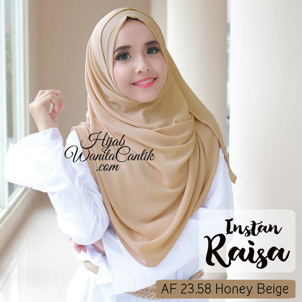 Pashmina Instan Raisa - AF23.58 Honey Beige