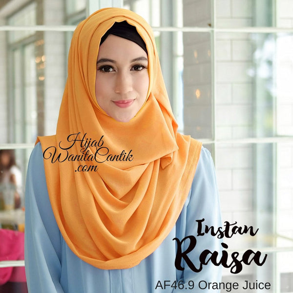 Pashmina Instan Raisa - AF46.9 Orange Juice