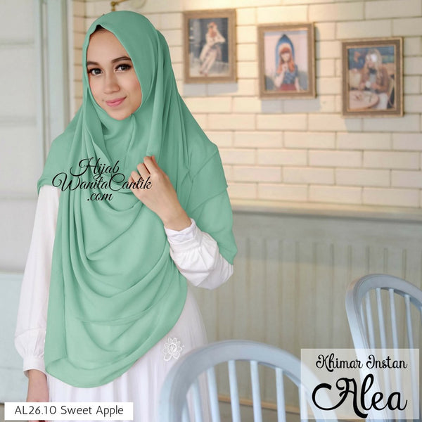 Khimar Instan Alea - AL26.10 Sweet Apple