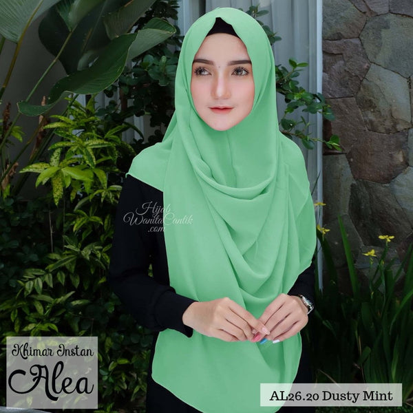 Khimar Instan Alea - AL26.20 Dusty Mint