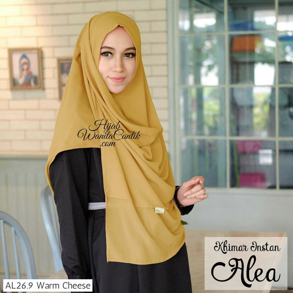 Khimar Instan Alea - AL26.9 Warm Cheese