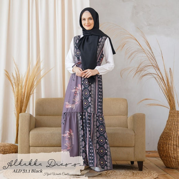 Alhabba Dress - ALD 31.1 Black