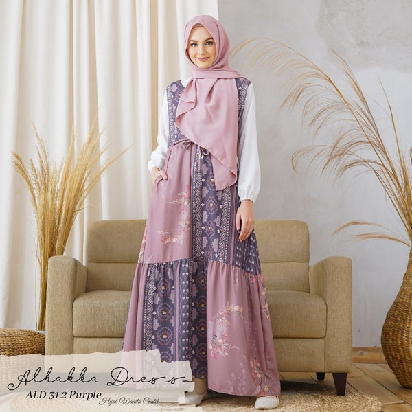 Alhabba Dress - ALD 31.2 Purple