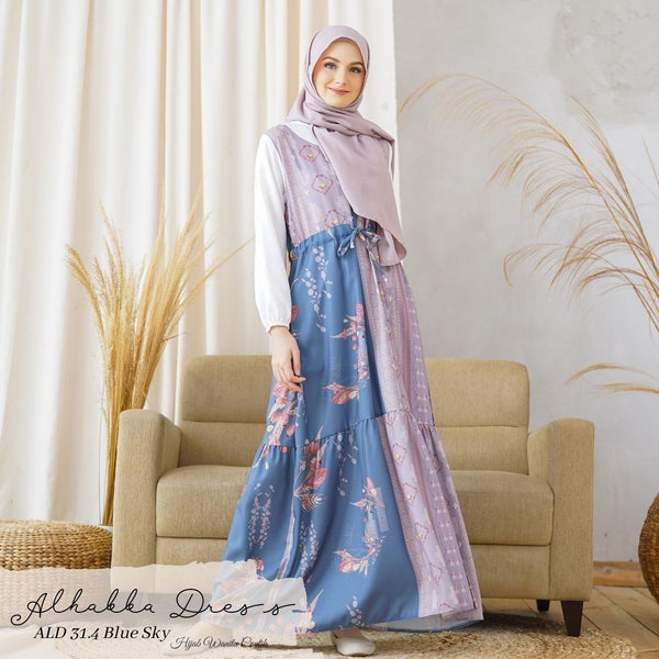 Alhabba Dress - ALD 31.4 Blue Sky