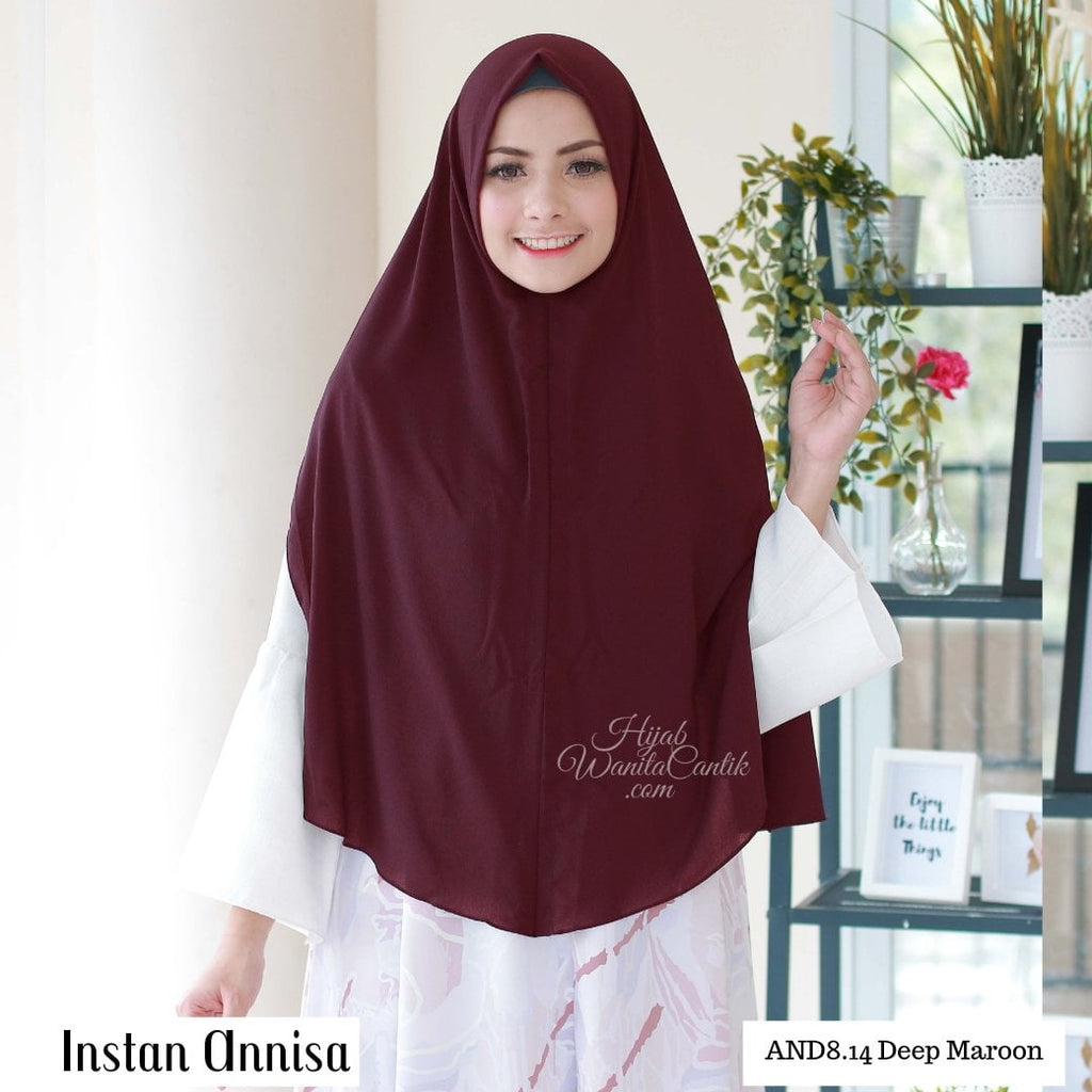 Instan Annisa  - AND8.14 Maroon