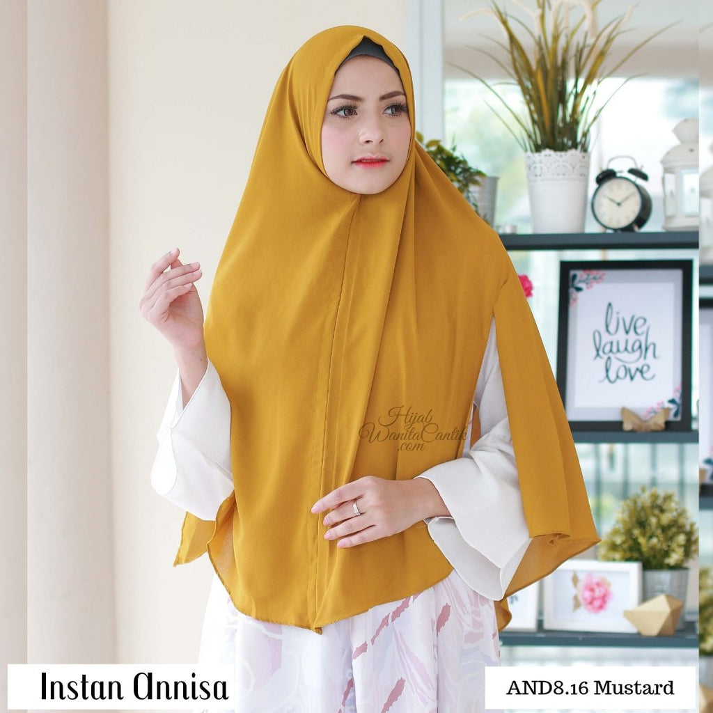 Instan Annisa  - AND8.16 Mustard