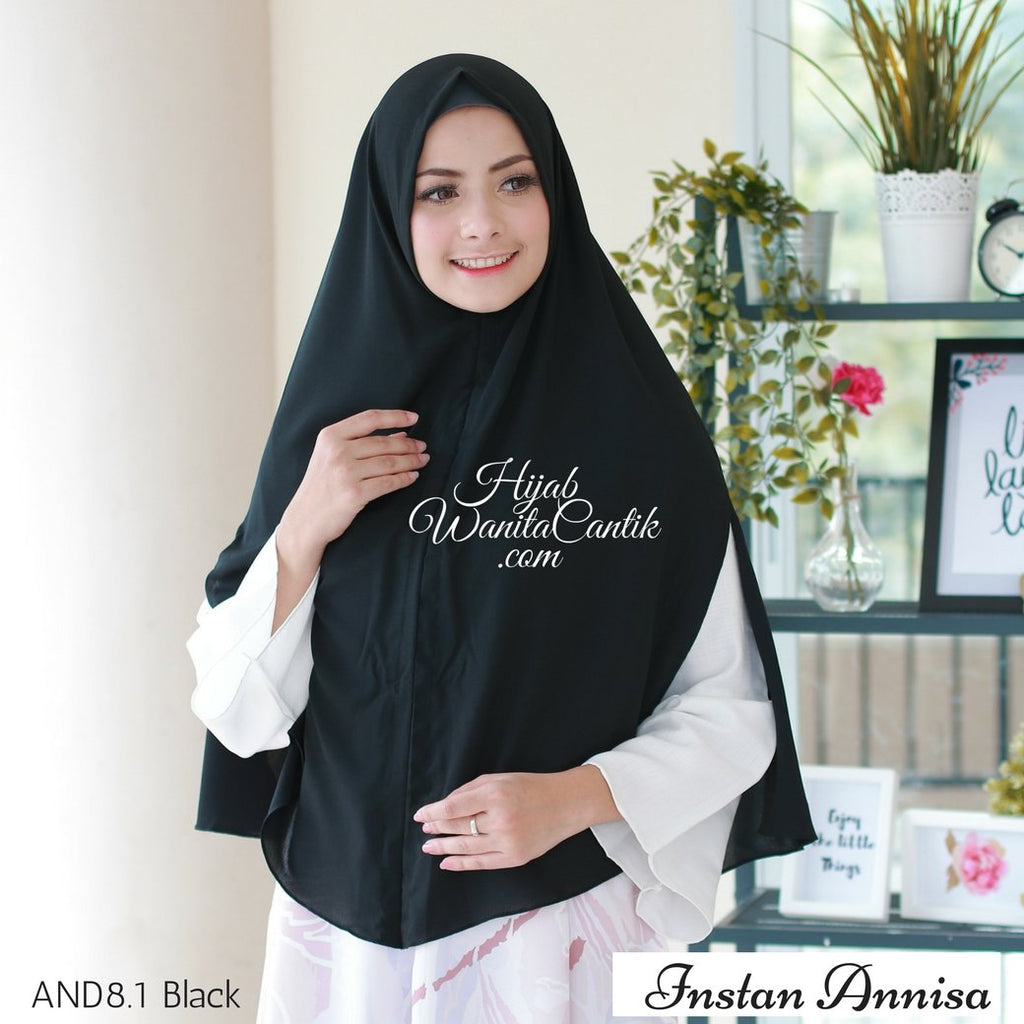 Instan Annisa  - AND8.1 Black