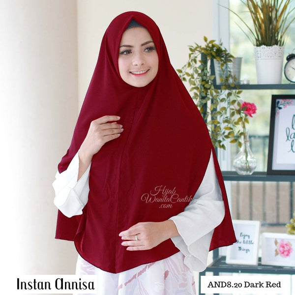Instan Annisa  - AND8.20 Dark Red