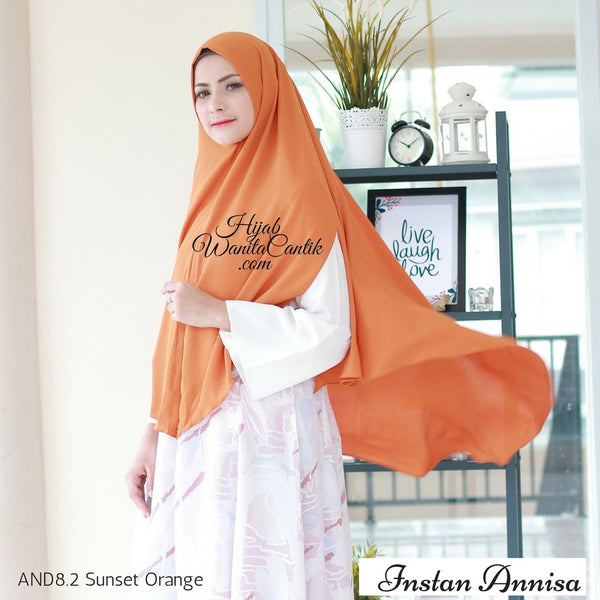 Instan Annisa  - AND8.2 Sunset Orange