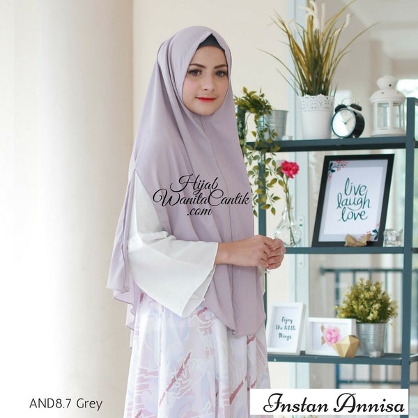 Instan Annisa  - AND8.7 Grey