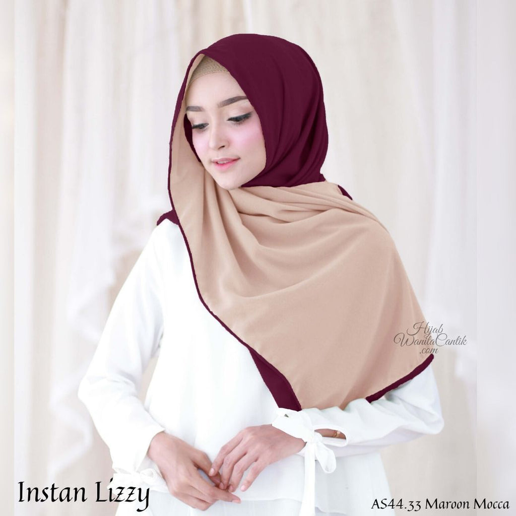 Instan Lizzy - AS44.33 Maroon Mocca