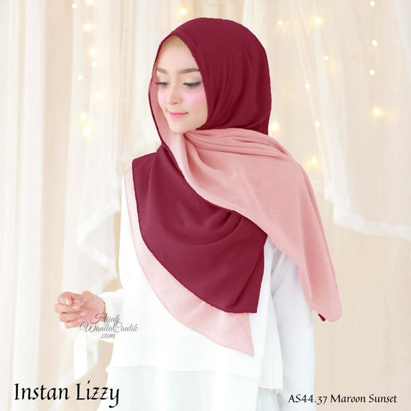 Instan Lizzy - AS44.37 Maroon Sunset