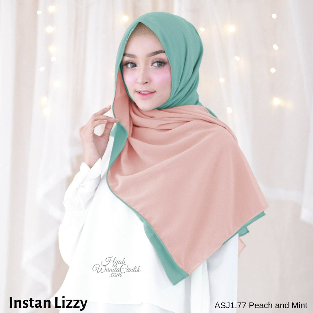 Instan Lizzy - ASJ1.77 Peach and Mint