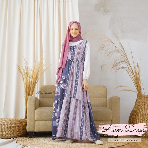 Aster Dress - AT44.1 Galaxy