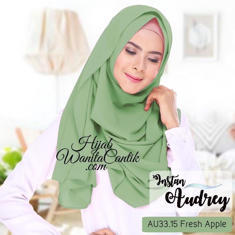 Pashmina Instan Audrey - AU33.15 Fresh Apple