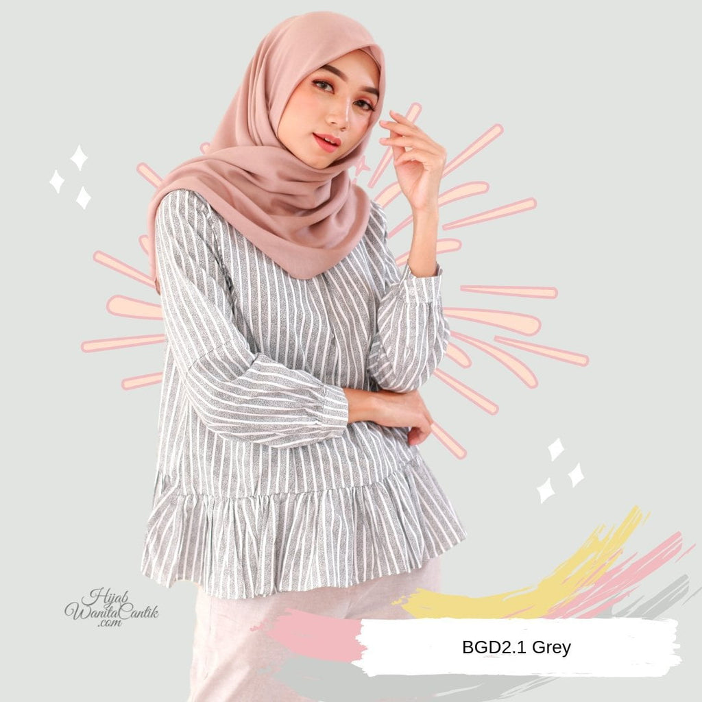 Sara Top - BGD2.1 Grey