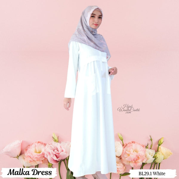 Malka Dress  - BL29.1 White