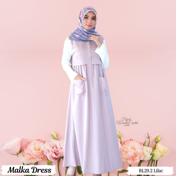 Malka Dress  - BL29.2 Lilac